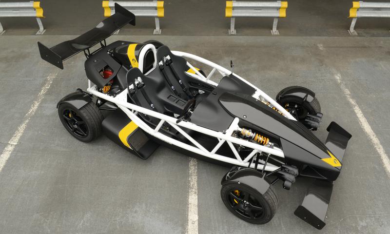 Ariel Atom 3,5 typ R - 350 hk