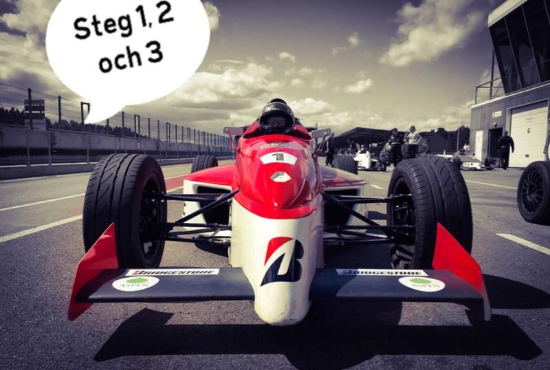 Formula Racing - steg 1 till licens
