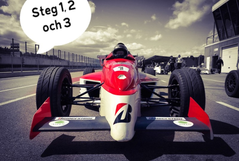 Formelbil 1- 2 & 3