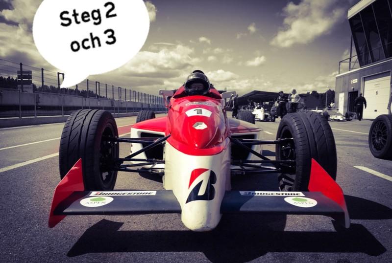 Formula Racing - steg 2 och 3